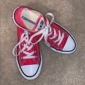 Like New Pink Converse